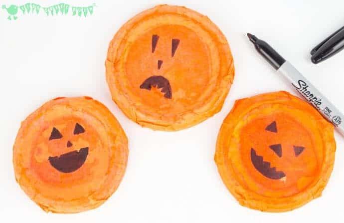 Easy Peasy Pumpkin Craft - stage 5