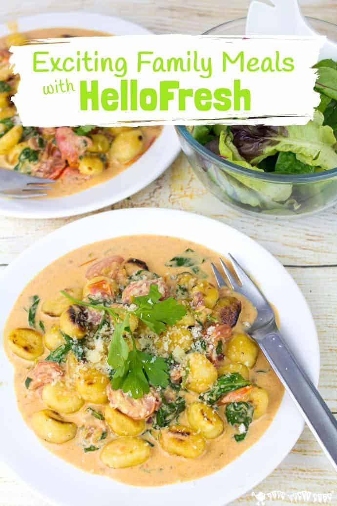 Considering HelloFresh the recipe box delivery service? See how I got on with my two week trial to try to get out of my cooking rut & make family meals fun!