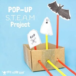 Spooky Pop-Up STEAM Project