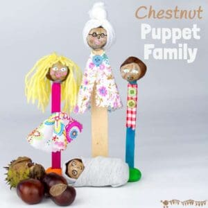 Puppet Family Chestnut Craft-Buckeye Craft