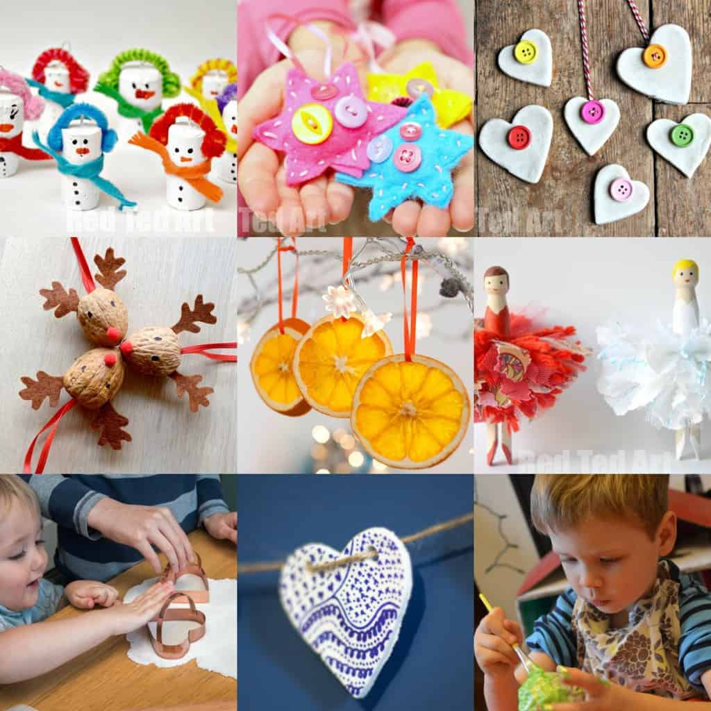30 Delightful Christmas Ornaments from the new book 30 Christmas Ornaments. Christmas crafts for kids are a great way to make memories you'll treasure year after year.