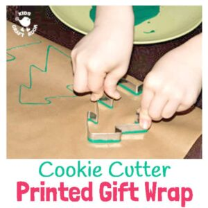 Cookie Cutter Printed Gift Wrap