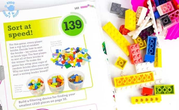 Win a copy of the awesome new book 365 Things To Do With LEGO Bricks, for year round creative fun.