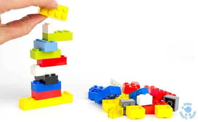 Minute To Win It Games with LEGO® - Kids Craft Room