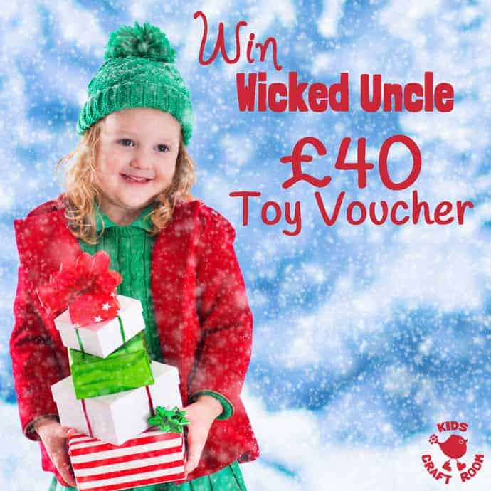 I've teamed with Wicked Uncle to find creative gifts for tween boys and to offer you the chance to win a £40 voucher to spend on toys for Christmas too!