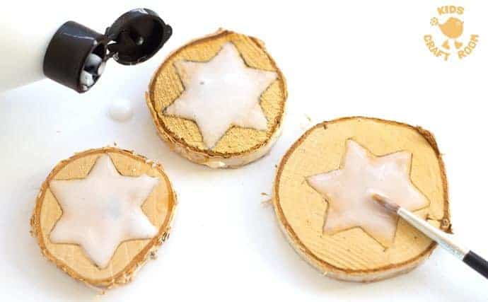 Sparkly-Star-Wood-Slice-Ornaments-step-2