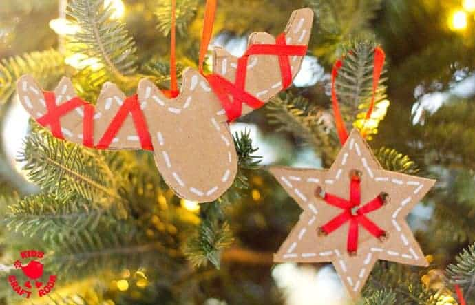 these pretty diy cardboard ornaments will make your christmas tree and home gorgeous this winter - Cardboard Christmas Decorations
