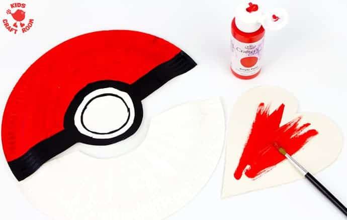 Paper-Plate-Pokeball-Craft-step-3