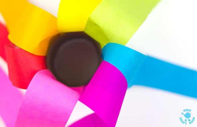 Cardboard Tube Rainbow Blowers step 4