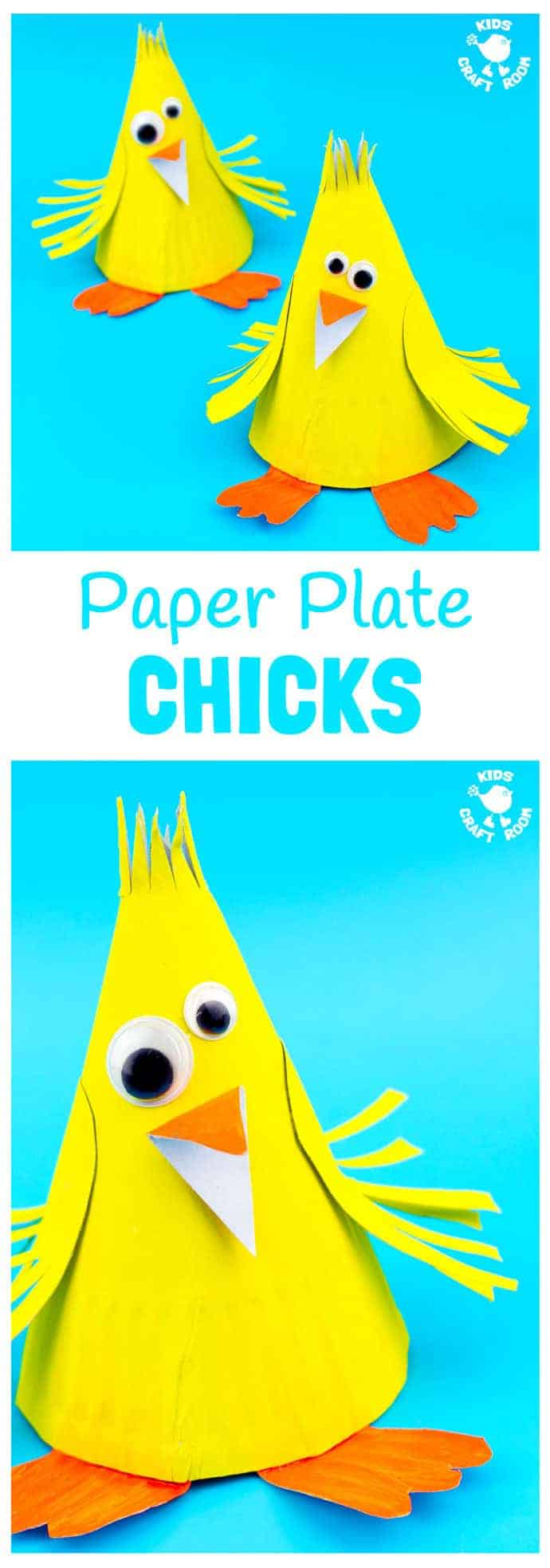 This Paper Plate Chick Craft is such a fun Spring craft for kids and of course  sc 1 st  Kids Craft Room & Adorable Paper Plate Chick Craft - Kids Craft Room