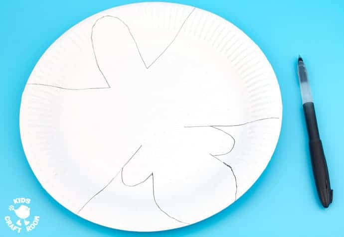 Step 1- ROCKING PAPER PLATE SHEEP CRAFT - Here's a spring craft kids will love. This rocking sheep or lamb craft is easy to make and so much fun! The movement really brings this kids animal craft to life. This is a paper plate craft the kids will enjoy playing with again and again.