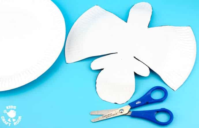 Step 2- ROCKING PAPER PLATE SHEEP CRAFT - Here's a spring craft kids will love. This rocking sheep or lamb craft is easy to make and so much fun! The movement really brings this kids animal craft to life. This is a paper plate craft the kids will enjoy playing with again and again.