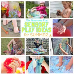 25+ Fun Summer Sensory Play Ideas