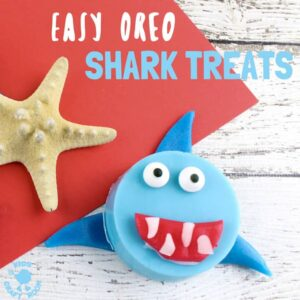 Easy Oreo Shark Treats