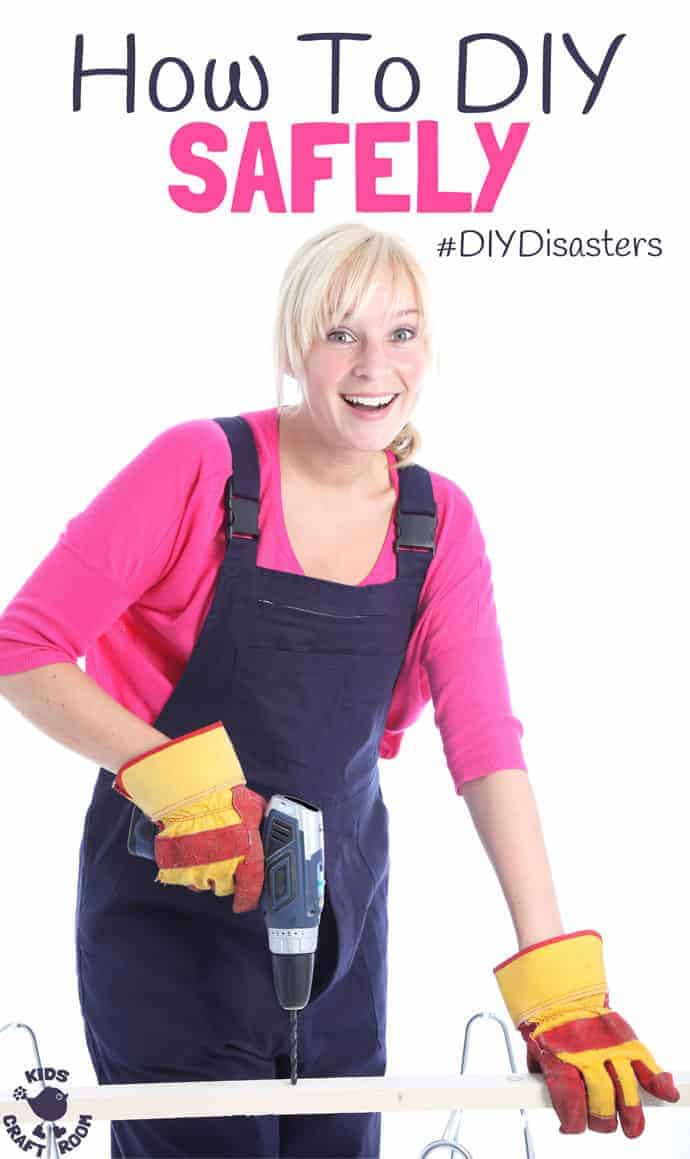 We all love to do some home improvements but do you know how to keep you and your family safe and avoid #DIYDisasters?