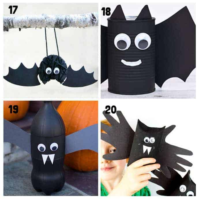 Best Bat Crafts For Kids 17-20
