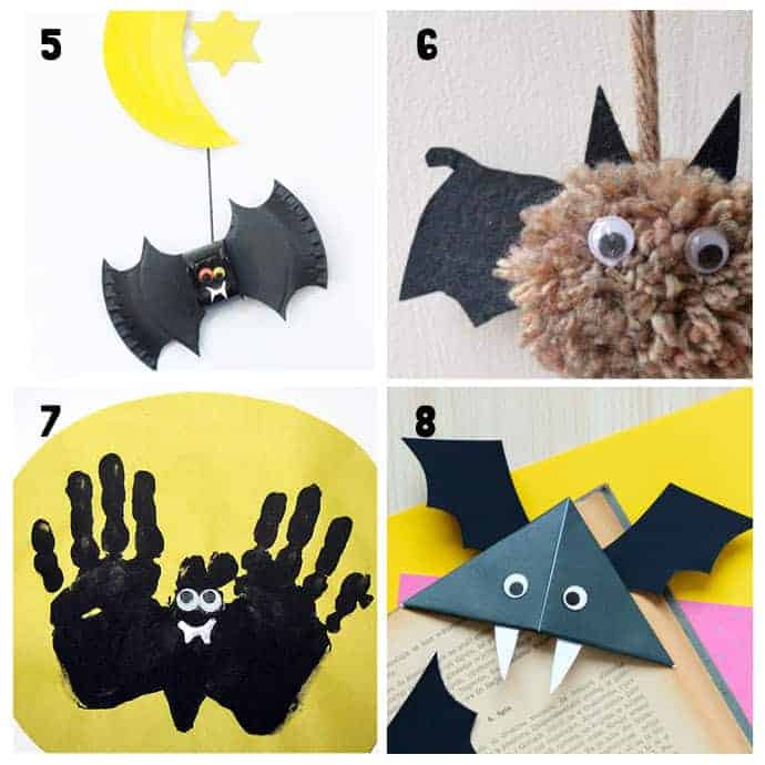 Best Bat Crafts For Kids 5-8