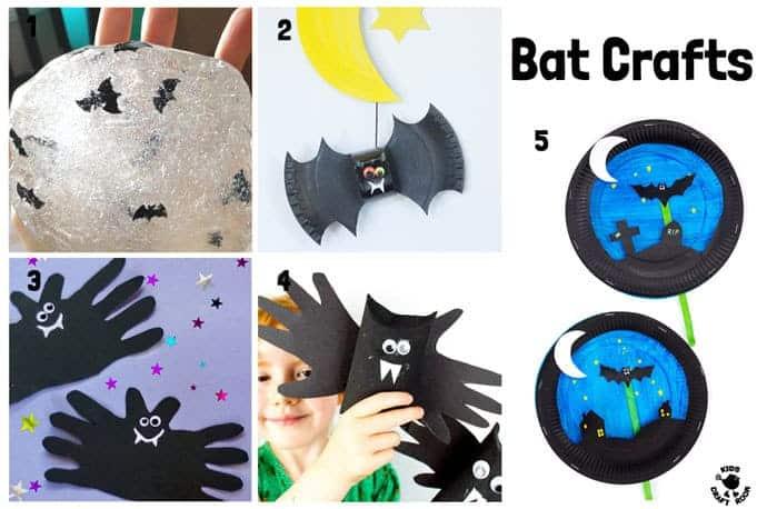 Bat Halloween Crafts For Kids