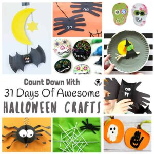 31 Days of Awesome Halloween Crafts