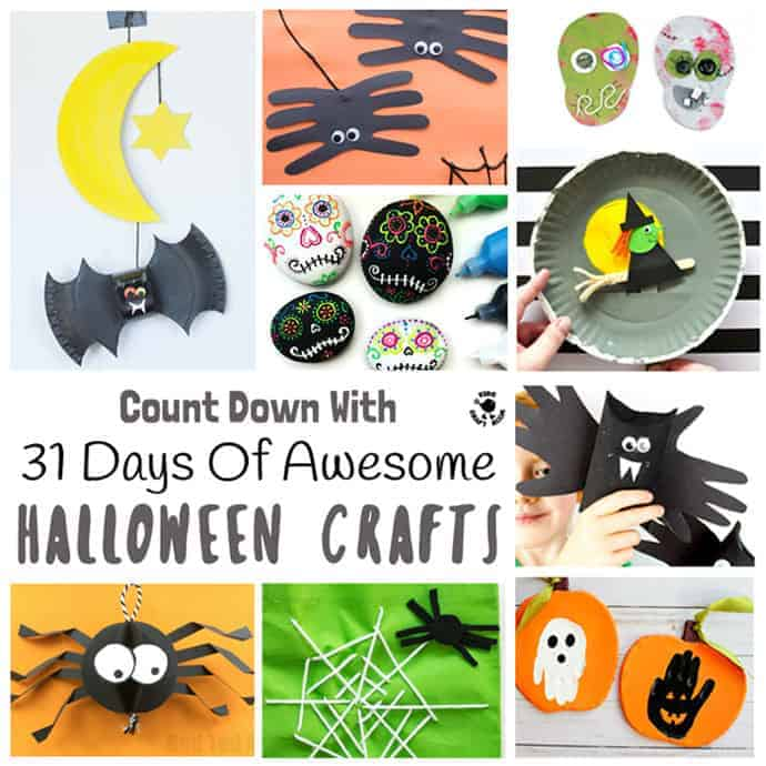 31 DAYS OF AWESOME HALLOWEEN CRAFTS FOR KIDS