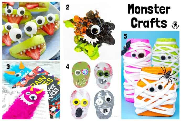 Monster Halloween Crafts For Kids
