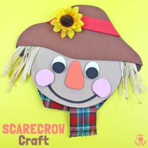 Cute Foam Scarecrow Craft