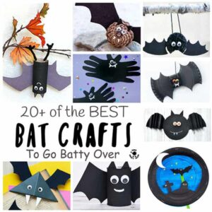 20+ Of The Best Bat Crafts To Go Batty Over!