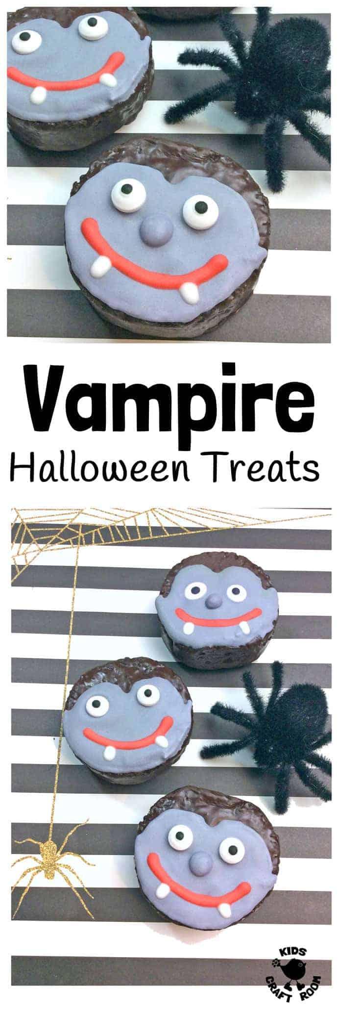 Easy Vampire Halloween Treats Kids Craft Room