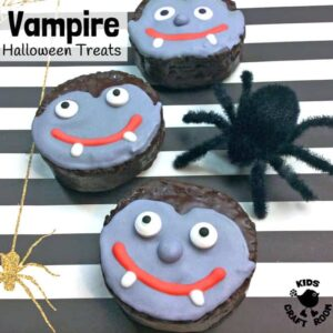 Easy Vampire Halloween Treats
