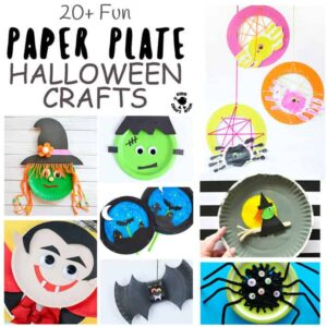 20+ Fun Paper Plate Halloween Crafts