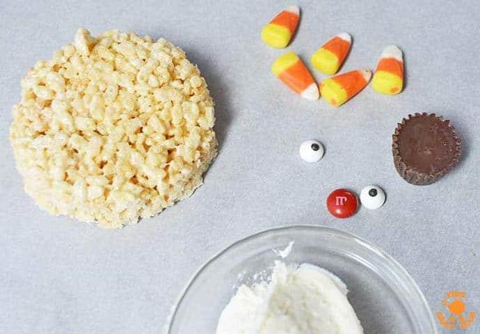 Step 4 - Turkey Rice Krispie Treats