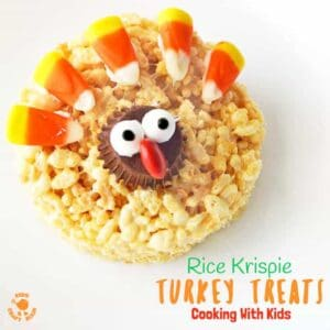 Adorable Turkey Rice Krispie Treats