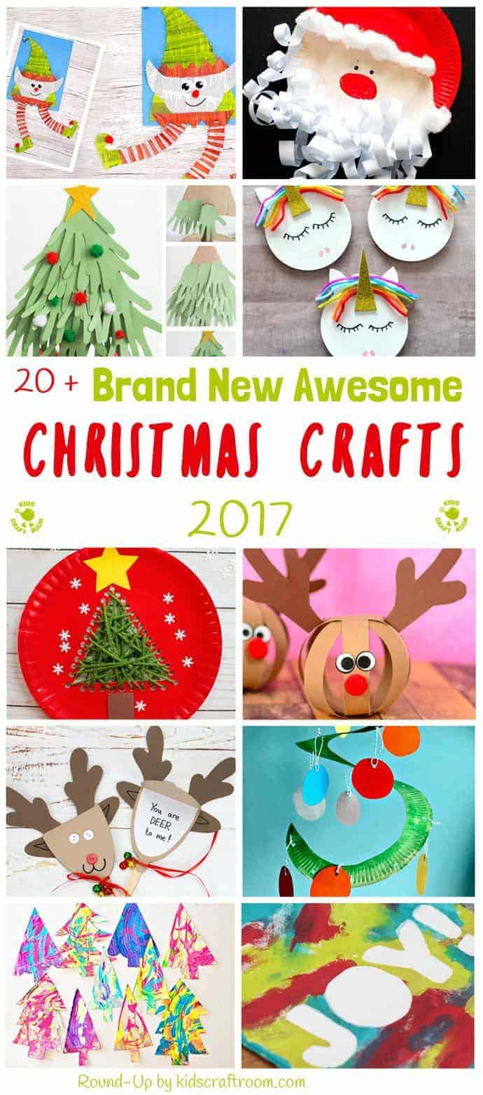 Bored of the same old Christmas craft ideas? Here's 20+ AWESOME BRAND NEW CHRISTMAS CRAFTS not to be missed! Grab the kids for a fun and festive craft time. #Christmas #christmascrafts #christmascraftideas #christmascraftsforkids #kidscrafts #christmasideas #christmasideasforkids #christmasart #christmasartideas #craftideas #kidscraftroom #festivecrafts #seasonalcrafts