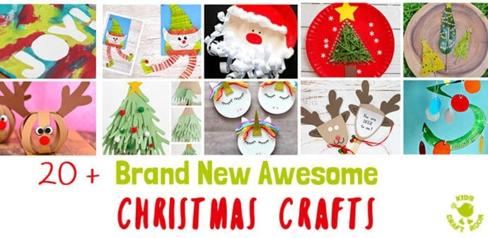 The Most Fun Christmas Crafts - Kids Craft Room
