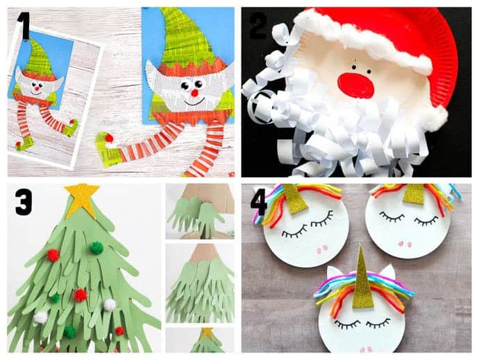 1-4 New Christmas Crafts