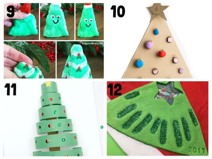 9-12 New Christmas Crafts