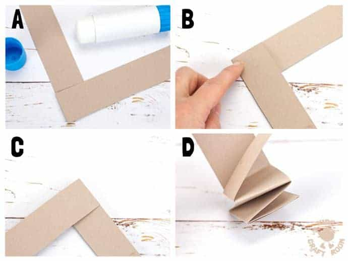 step 5 paper reindeer craft