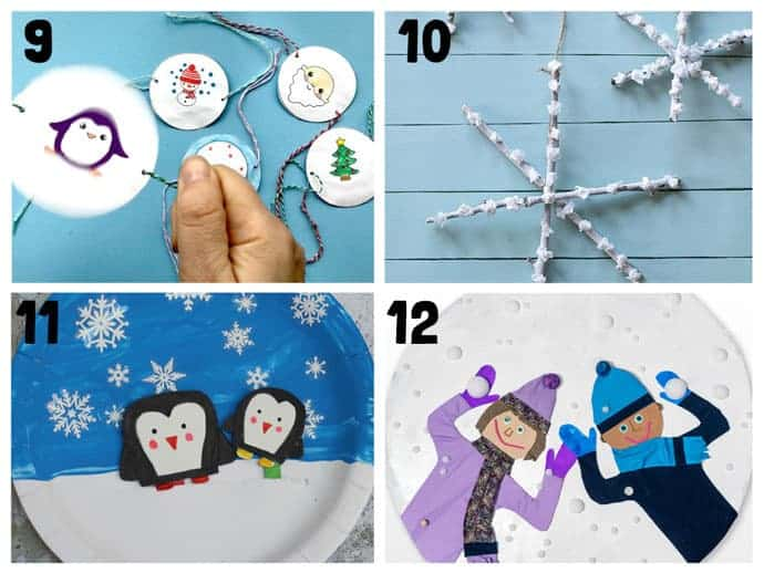 9-12 New Wonderful Winter Crafts For Kids
