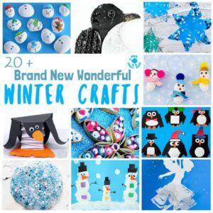 Brand New Wonderful Winter Crafts