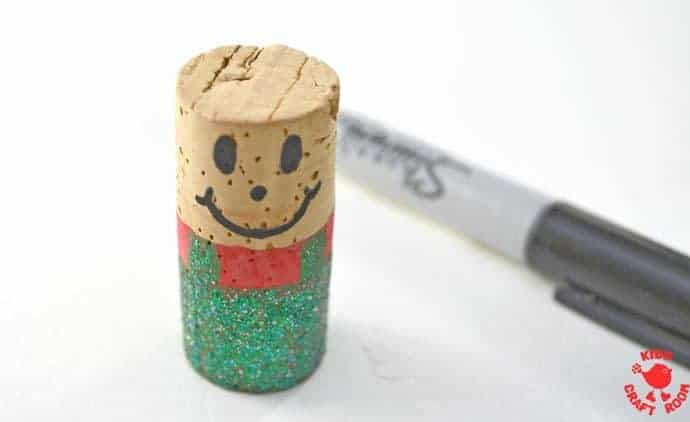 Step-4-Cork-Elf-Ornament