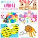 ANIMAL VALENTINE CRAFTS FOR KIDS - Need something a bit fun and different for Valentine's Day? How about these cool Animal Valentines? They're not too soppy so your boys and girls will love them! #valentines #valentinesday #valentinecraft #valentinecrafts #animalcrafts #animal #kidscrafts #craftsforkids #kidscraftideas #kidsactivities #crafts #craft #preschool #preschoolcraft #toddlercrafts #prek #craftideas