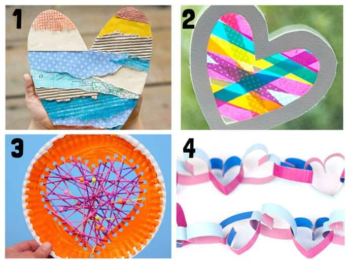 Heart Craft Ideas 1-4