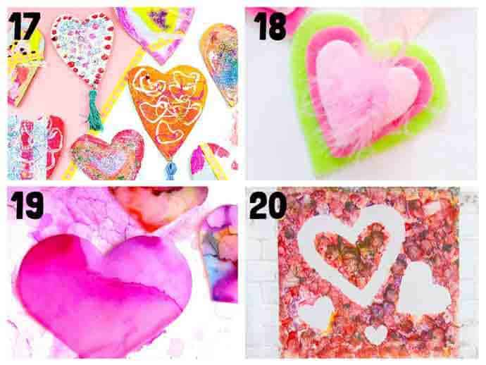 Heart Craft Ideas 17-20