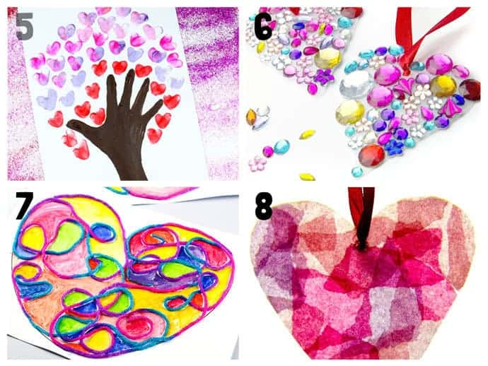 Heart Craft Ideas 5-8