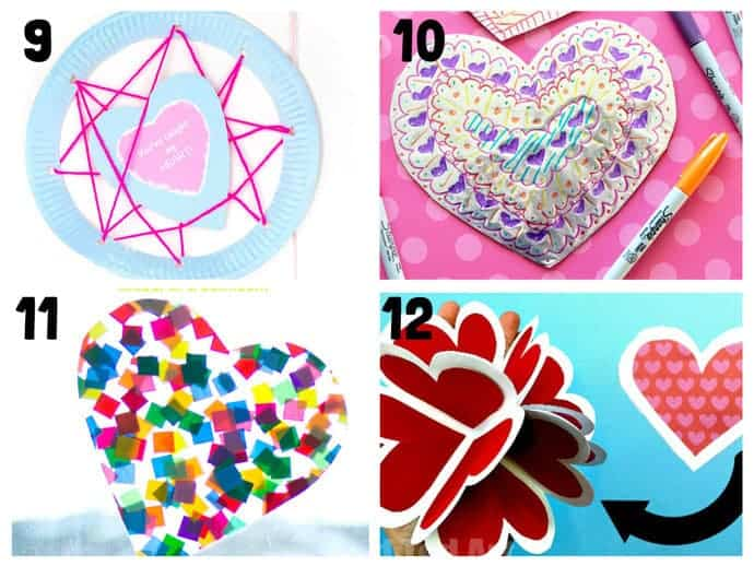 Heart Craft Ideas 9-12