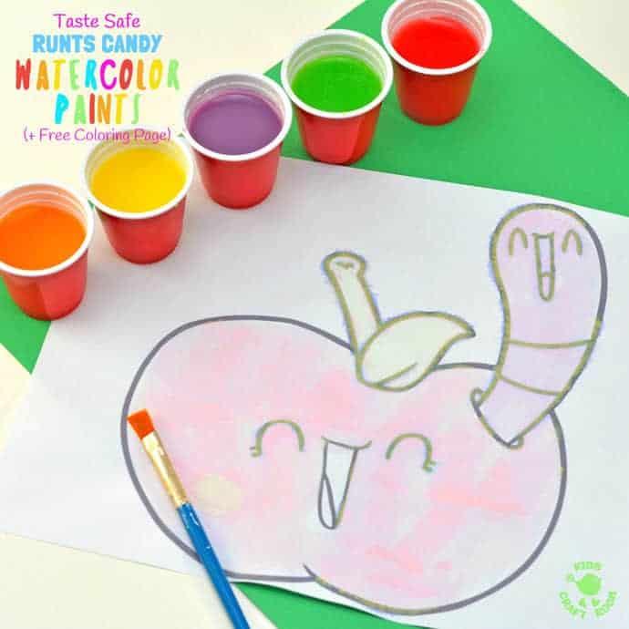 Taste Safe Runts Watercolor Paint Recipe