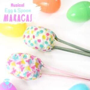 Fun and Easy Easter Egg Maracas