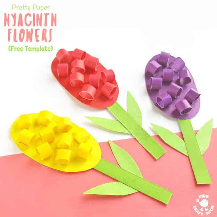 paper hyacinths flower craft for kids pretty paper hyacinth flower craft craft room 7860