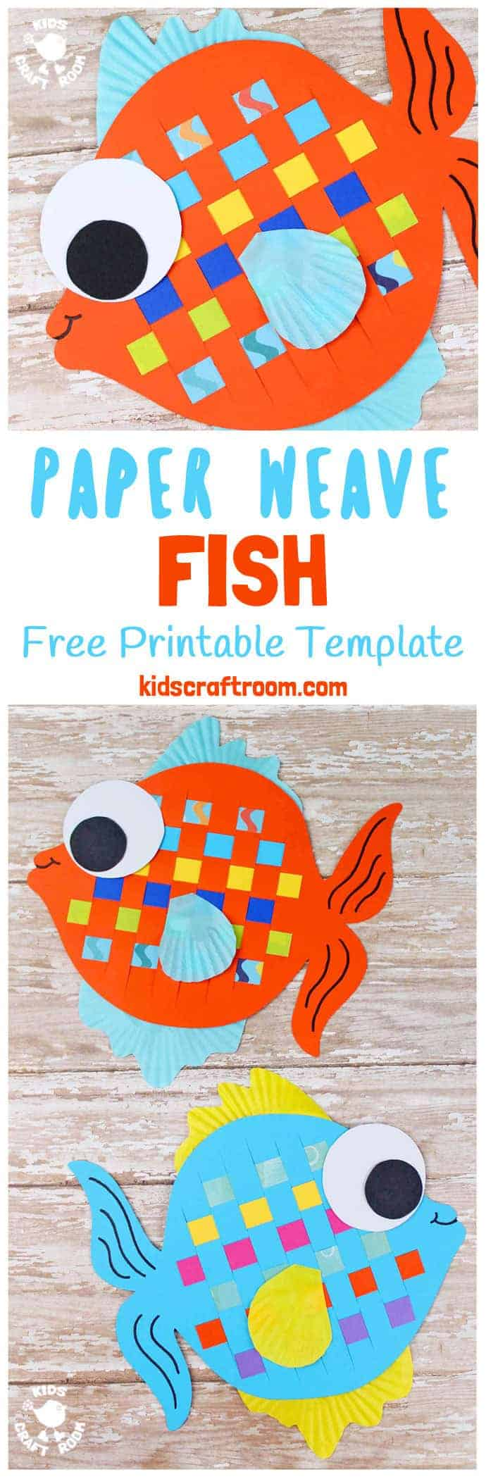 Heres A Paper Weaving Fish Craft Thats Perfect For Summer These Colourful Are Super
