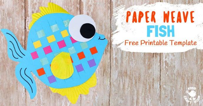 Paper Weaving Fish Craft Kids Craft Room